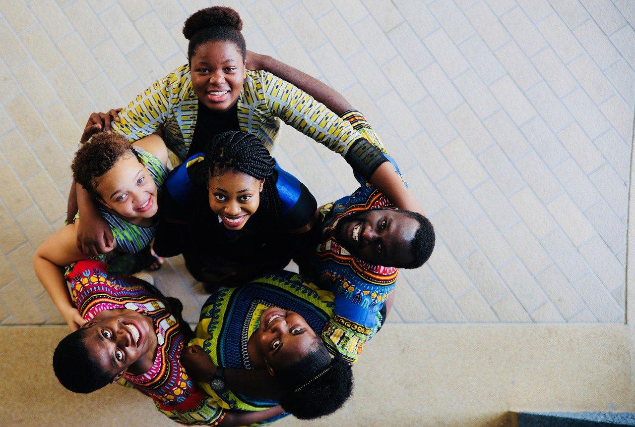 africans, friendship, diversity